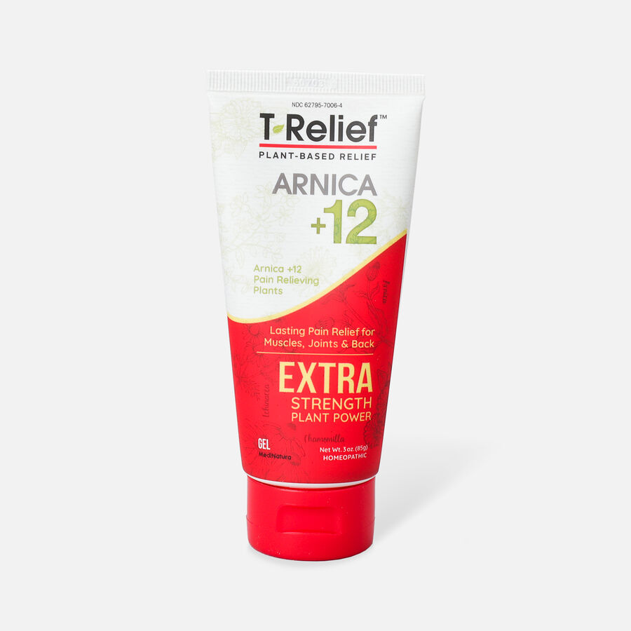 T-Relief Extra Strength Pain Relief Gel, 3 oz, , large image number 0