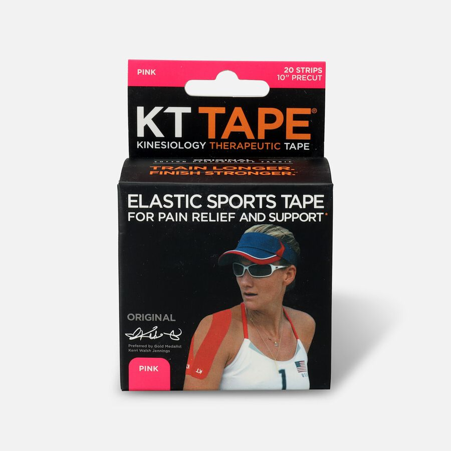 KT TAPE Original, Pre-cut, 20 Strip, Cotton, , large image number 3