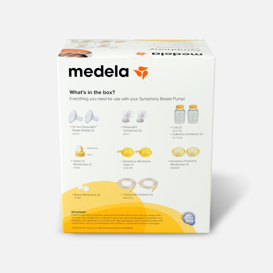 Medela Symphony Double Breast Pump Kit, , large image number 2