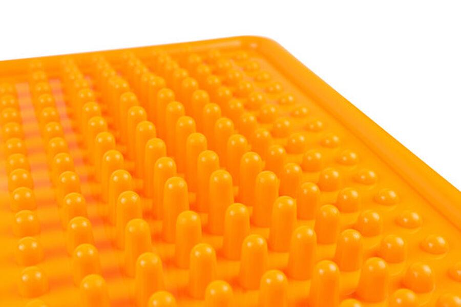 KanjoAcupressure Foot Pain Relief Mat, Orange, , large image number 5