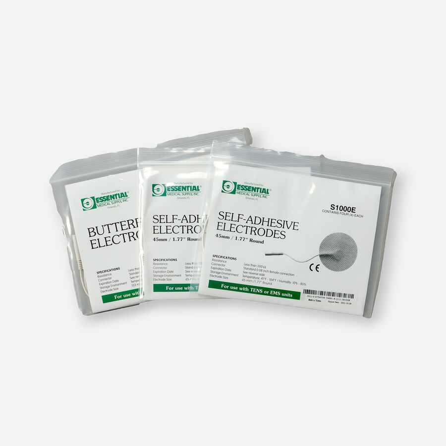 Essential Medical Supply TENS Electrode Combo Pack, , large image number 1