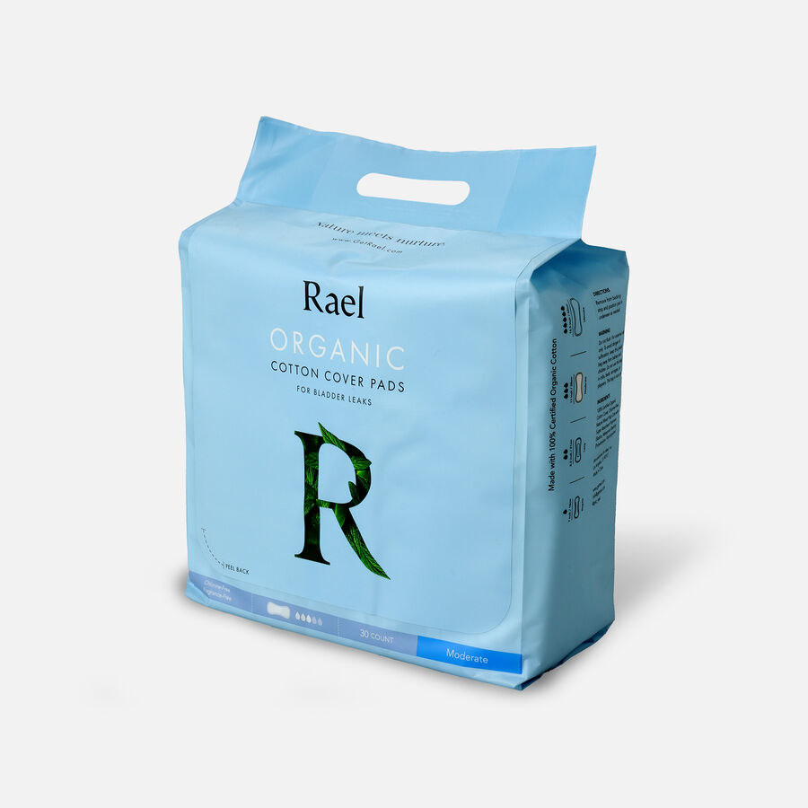 Rael Organic Cotton Cover Pads for Bladder Leaks, , large image number 5