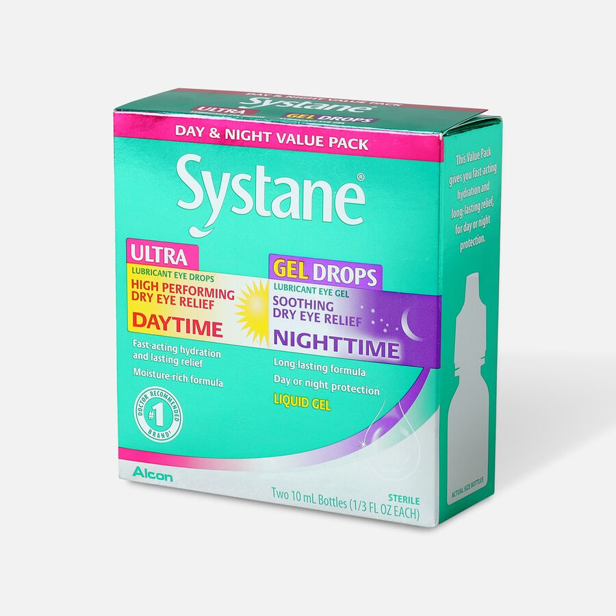Systane Day & Night Value Pack, , large image number 1