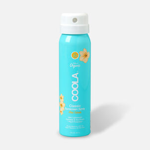 Coola Classic Body Organic Sunscreen Spray SPF 30 Pina Colada - Travel Size