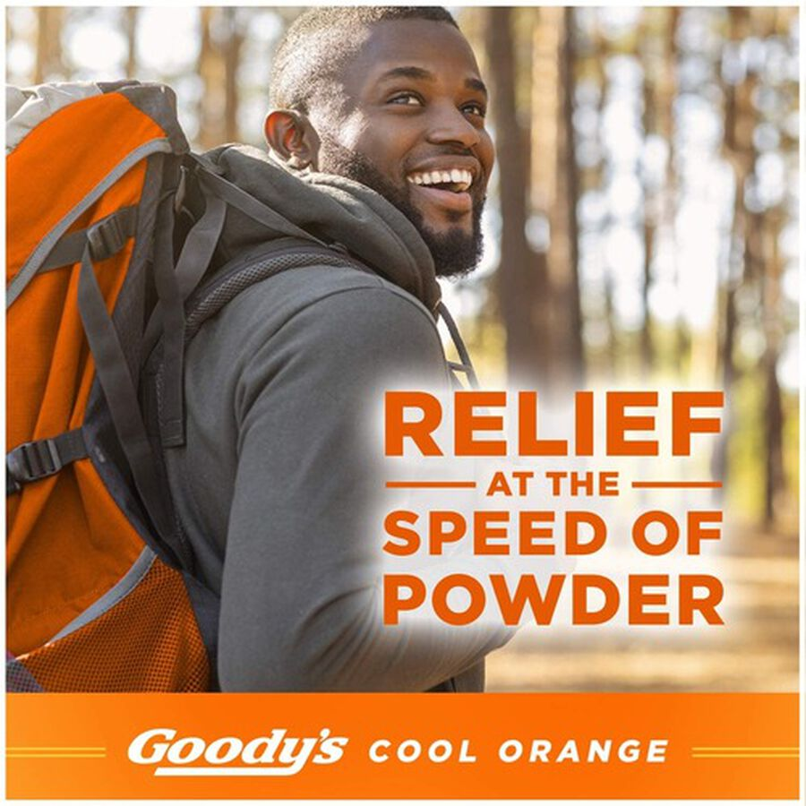 Goody's Cool Orange Acetaminophen / Aspirin Powder Stick, 24ct., , large image number 6