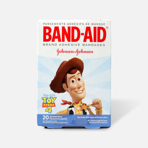 Band-Aid Adhesive Bandages, Disney/Pixar Toy Story 4, Assorted Sizes, 20 ct.