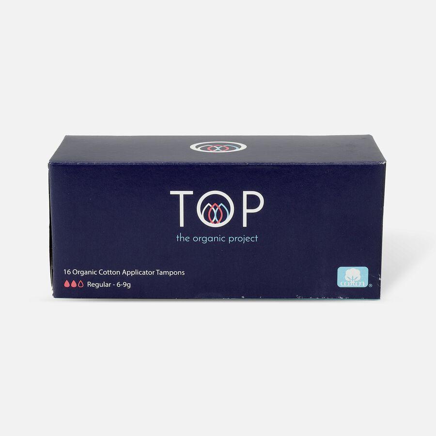 TOP Organic Cotton Cardboard Applicator Tampon, , large image number 0
