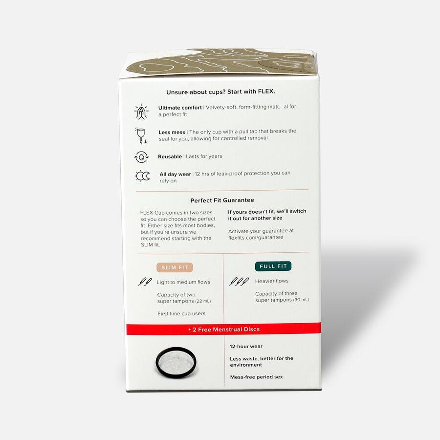 FLEX Menstrual Cup (includes 2 FREE Menstrual Discs), , large image number 3