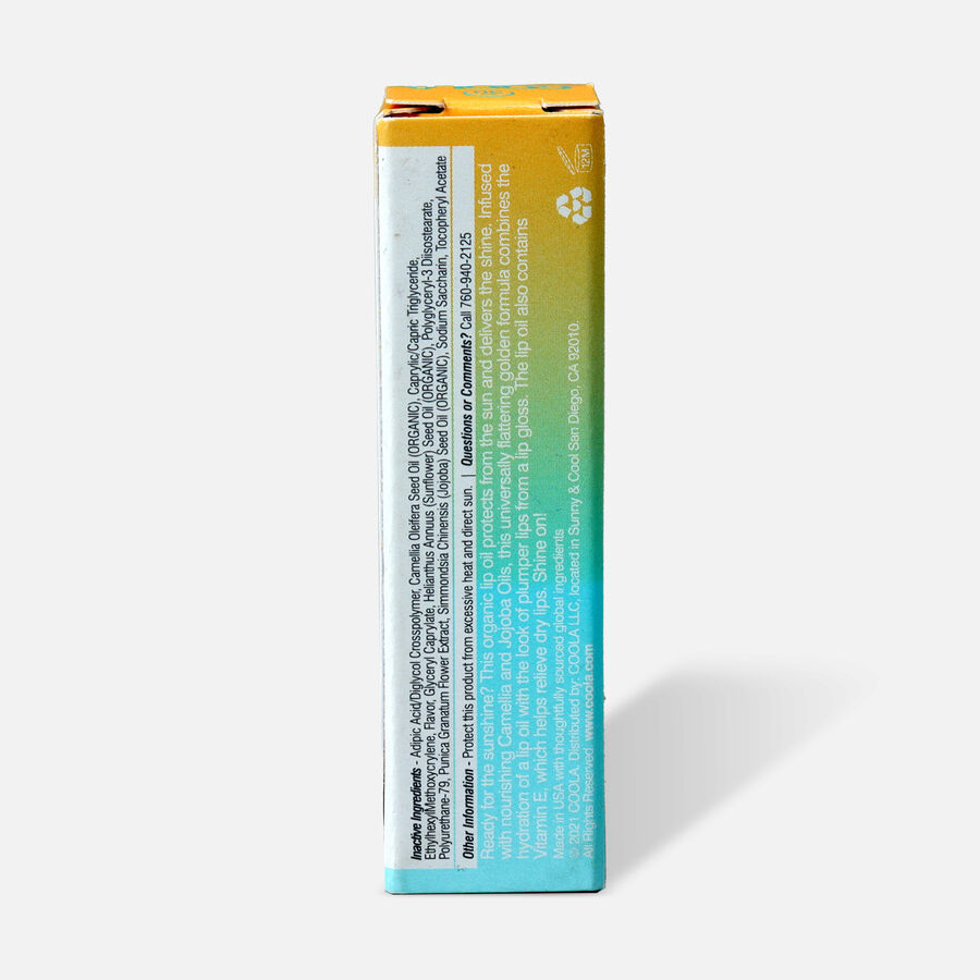 Coola Classic Liplux Organic Hydrating Lip Oil Sunscreen SPF 30, , large image number 1