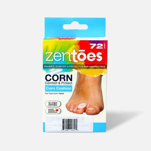 ZenToes Corn Cushions - 72 Pack