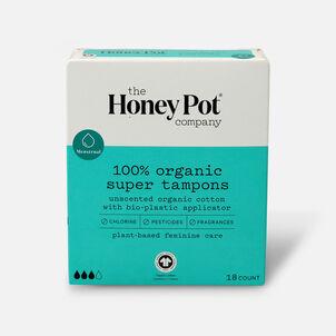 The Honey Pot Organic Tampons, 18ct