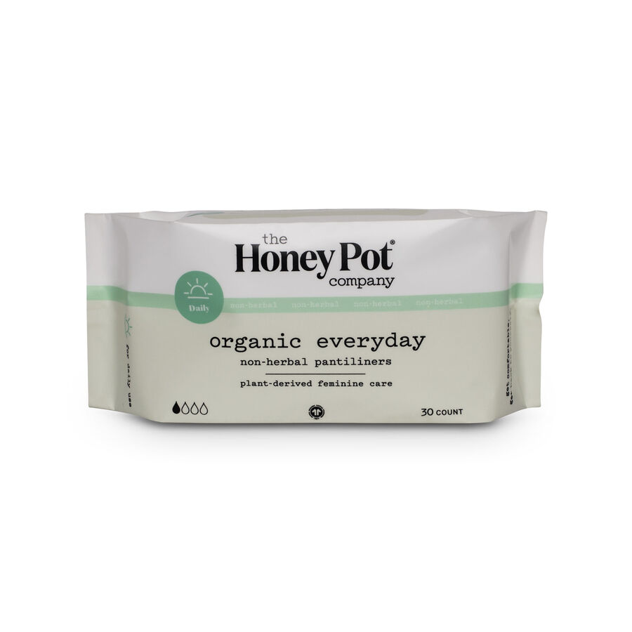 The Honey Pot Everyday Pantiliners, 30 ct, , large image number 1