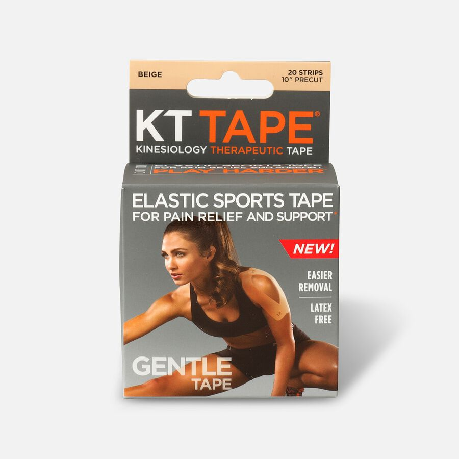 KT Tape Gentle Cotton Kinesiology Tape, , large image number 0