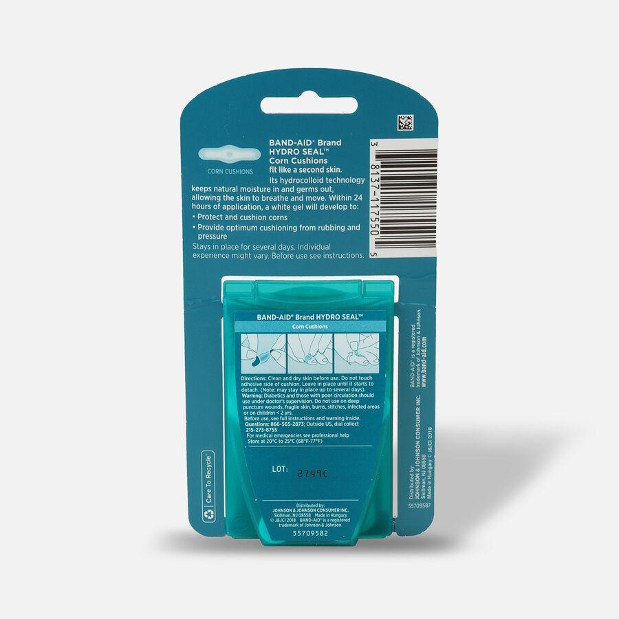Band-Aid Hydro Seal Corn Cushion Bandages, Waterproof Corn Pads, Medium, 10 ct, , large image number 1