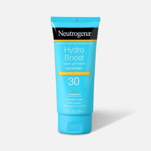 Neutrogena Hydro Boost Water Gel Non-Greasy Sunscreen Lotion, SPF 30, 3 fl. oz