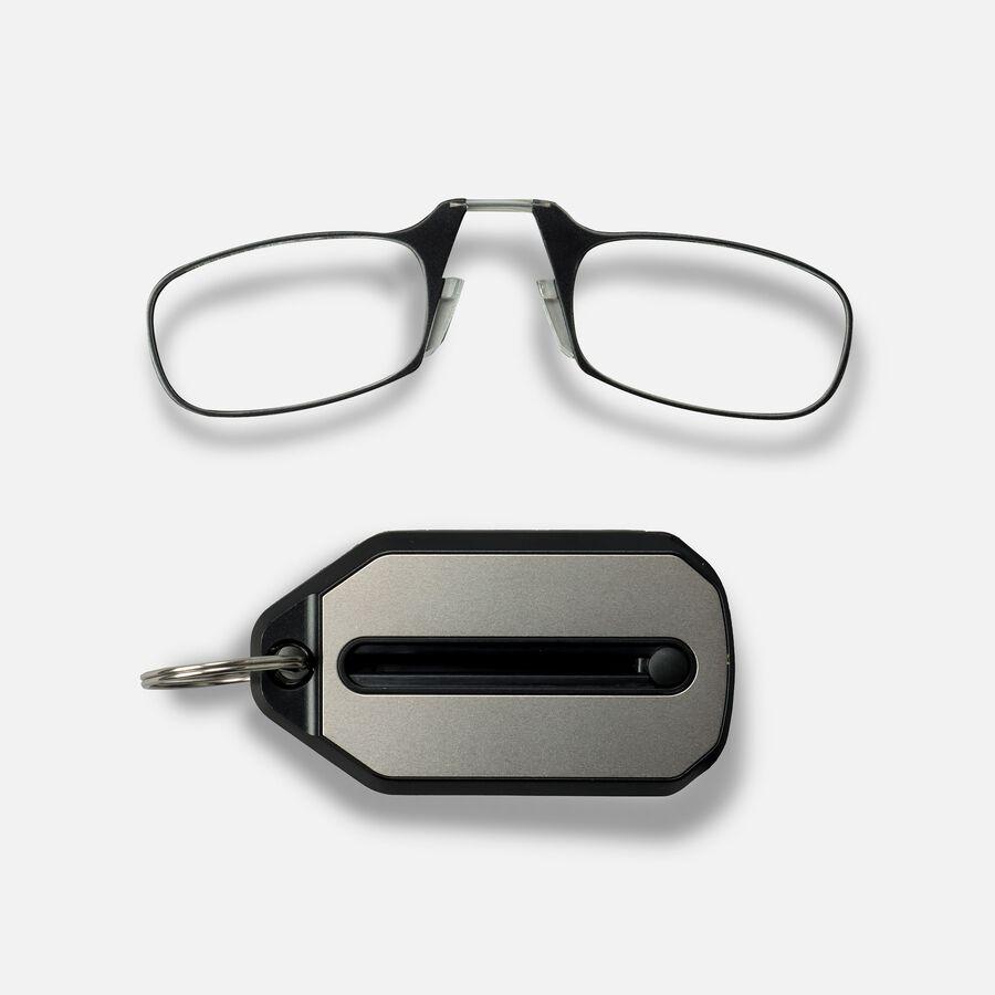 ThinOPTICS Keychain Reading Glasses, Black Frame, 1.50 Strength, , large image number 2