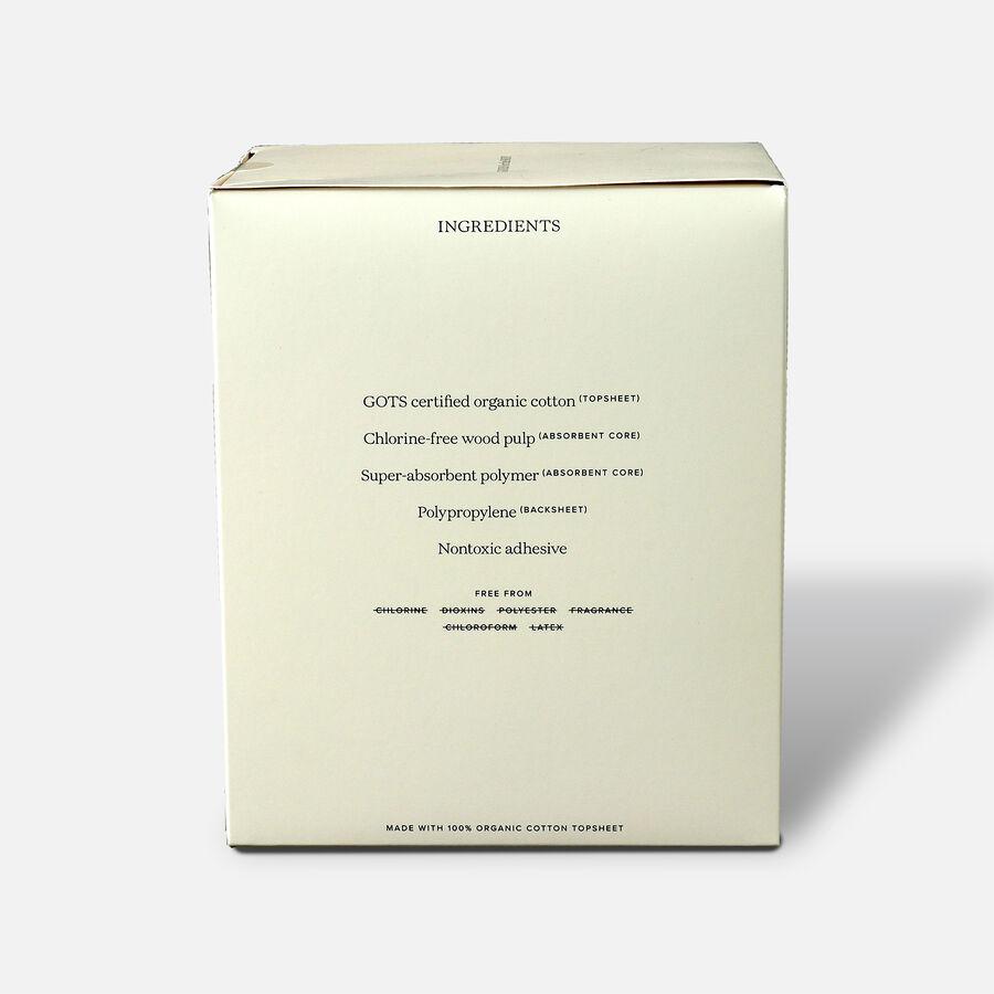Cora Organic Cotton Ultra Thin Period Pads, Regular, 32ct, , large image number 3