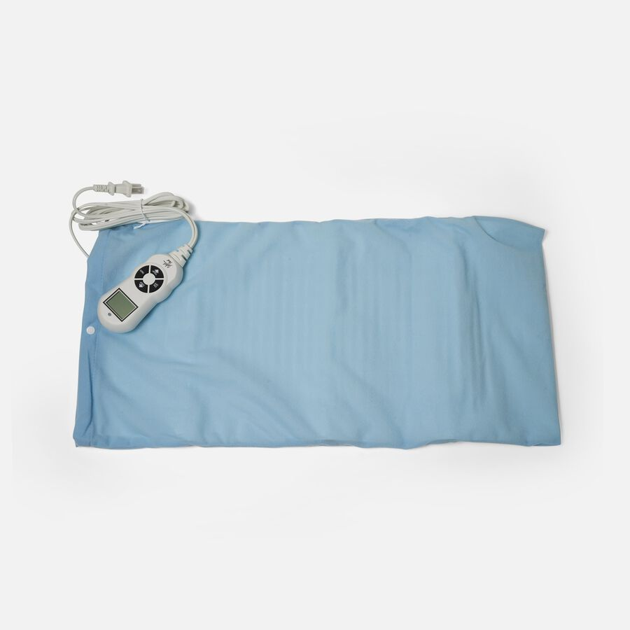 """Caring Mill® LCD Moist/ Dry Heating Pad King Size 12"""" x 24"""", , large image number 2"""