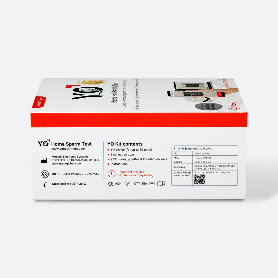 YO Home Sperm Test Kit - Universal, , large image number 2