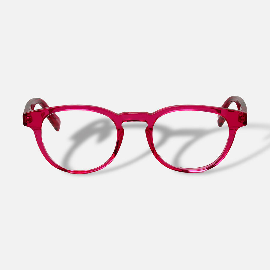 EyeBobs Clearly Reading Glasses, Pink, , large image number 0