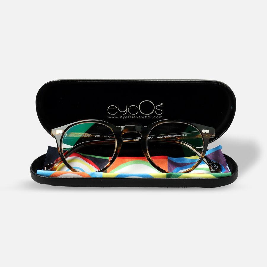 eyeOs Wise Guy Tortoise Premium Reading Glasses, , large image number 7