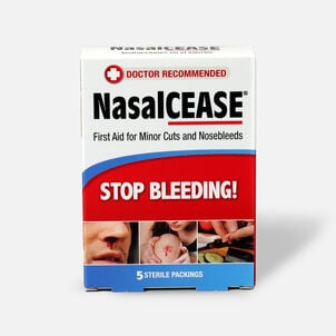 NasalCEASE Nosebleed Packing - 5ct