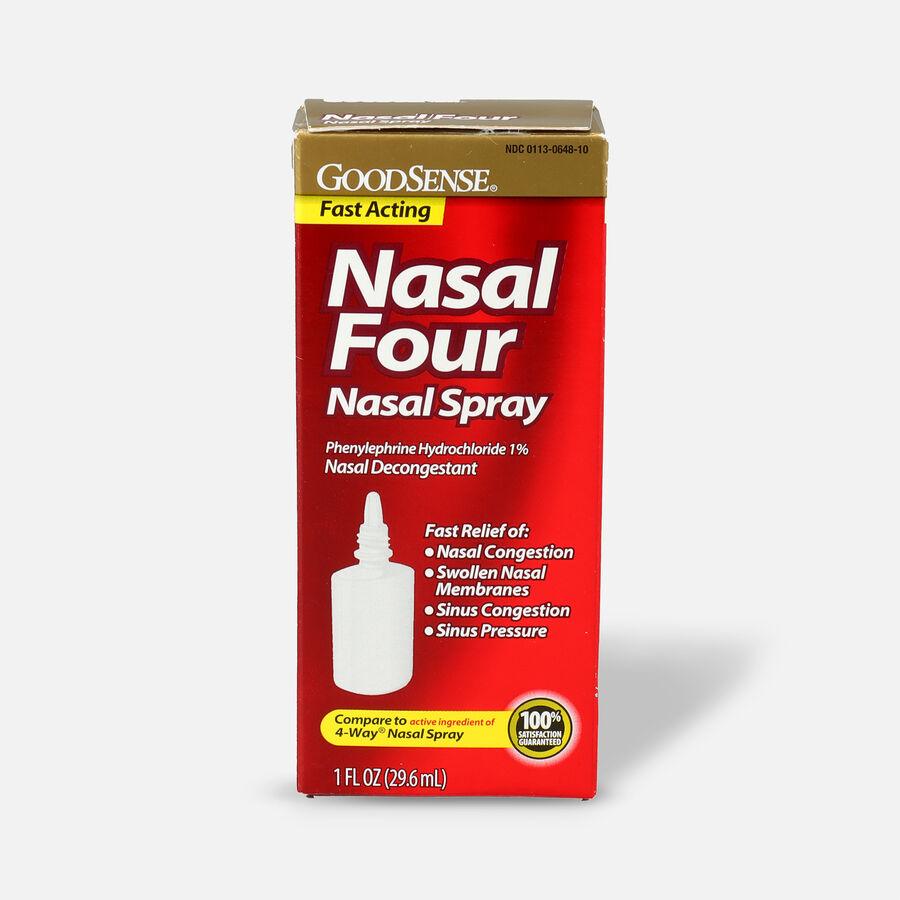 GoodSense® Nasal Four Nasal Spray, 1 fl oz, , large image number 0
