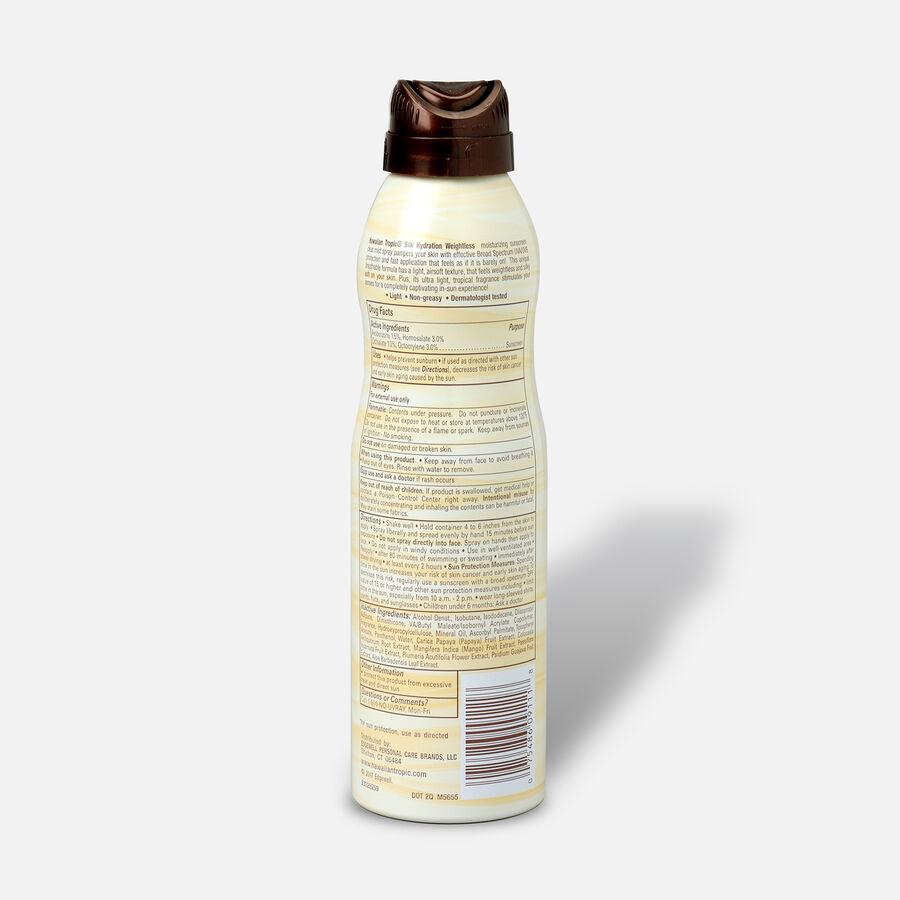 Hawaiian Tropic Silk Hydration Weightless Sunscreen Spray, 6oz., , large image number 1