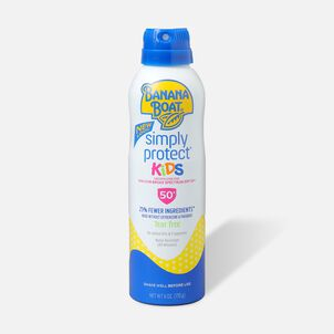 Banana Boat Simply Protect Kids Sunscreen Spray SPF 50+, 6oz.