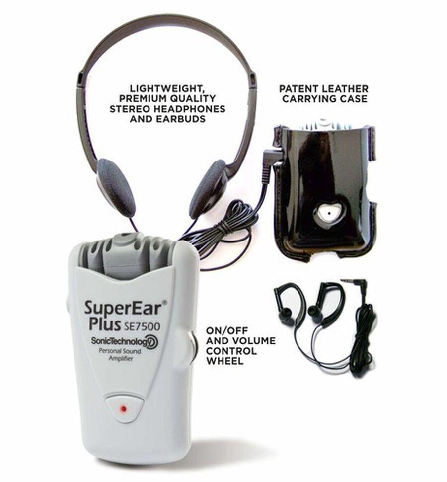 SuperEar PLUS SE7500 Dynamic Low-Profile Personal Sound Amplifier, , large image number 4