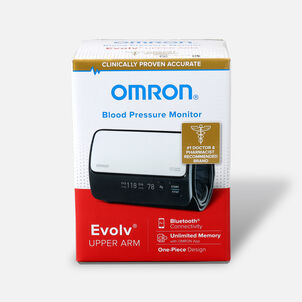 Omron Evolv Wireless Upper Arm Blood Pressure Monitor- BP7000