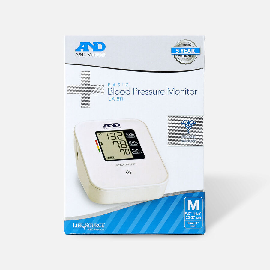 A&D Medical Arm Blood Pressure Monitor, , large image number 0