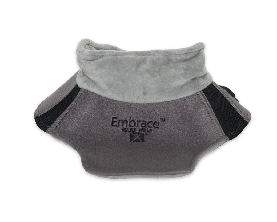 Battle Creek Embrace ™ Relief Neck Wrap – Portable, 3 Temperature Settings, Auto Shut Off, Wireless & Rechargeable Wrap, Battery-Operated Heat Therapy Wrap for Neck Pain Relief, , large image number 0