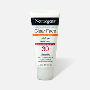 Neutrogena Clear Face Liquid Sunscreen Lotion SPF 30 - 3 fl oz