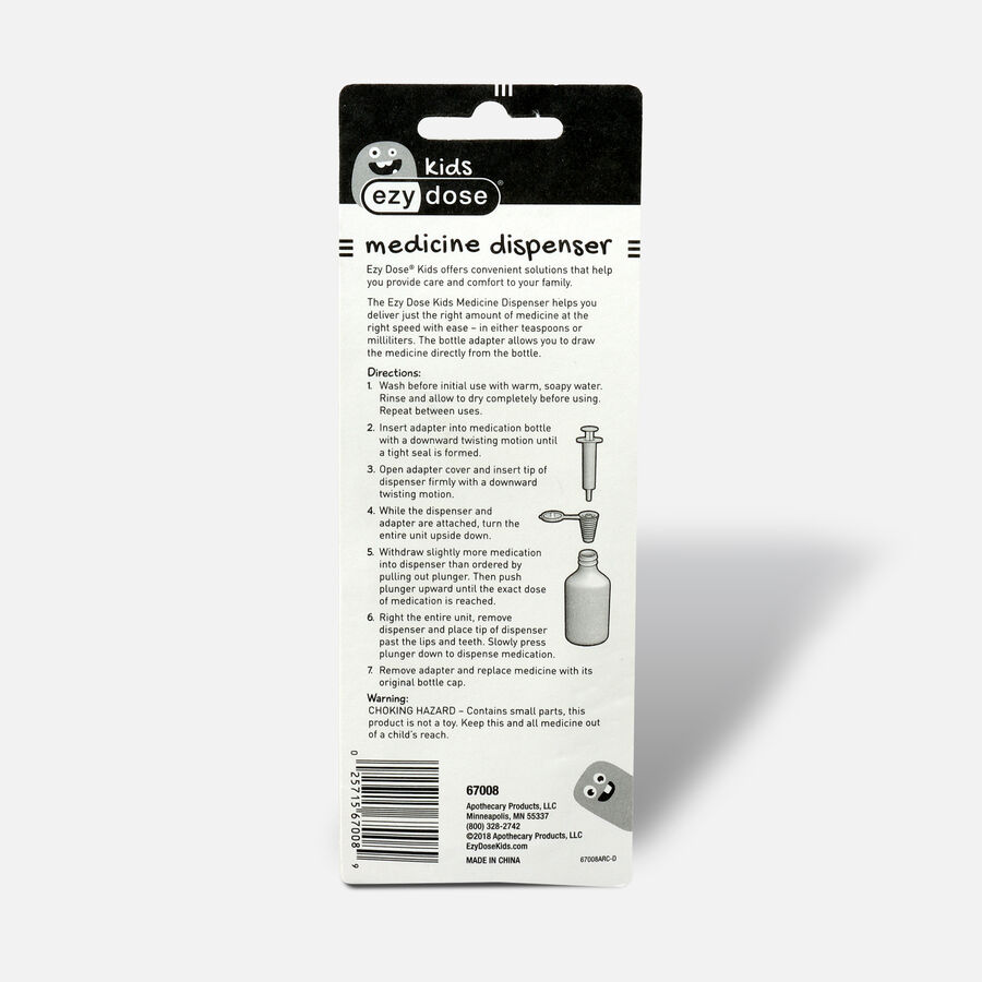 EZY Dose Calibrated Oral Syringe, 1 TSP, , large image number 1