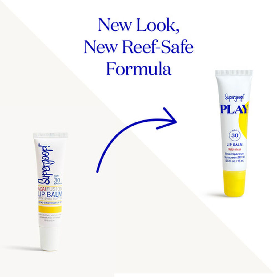 Supergoop! PLAY Lip Balm SPF 30 with Acai, , large image number 1
