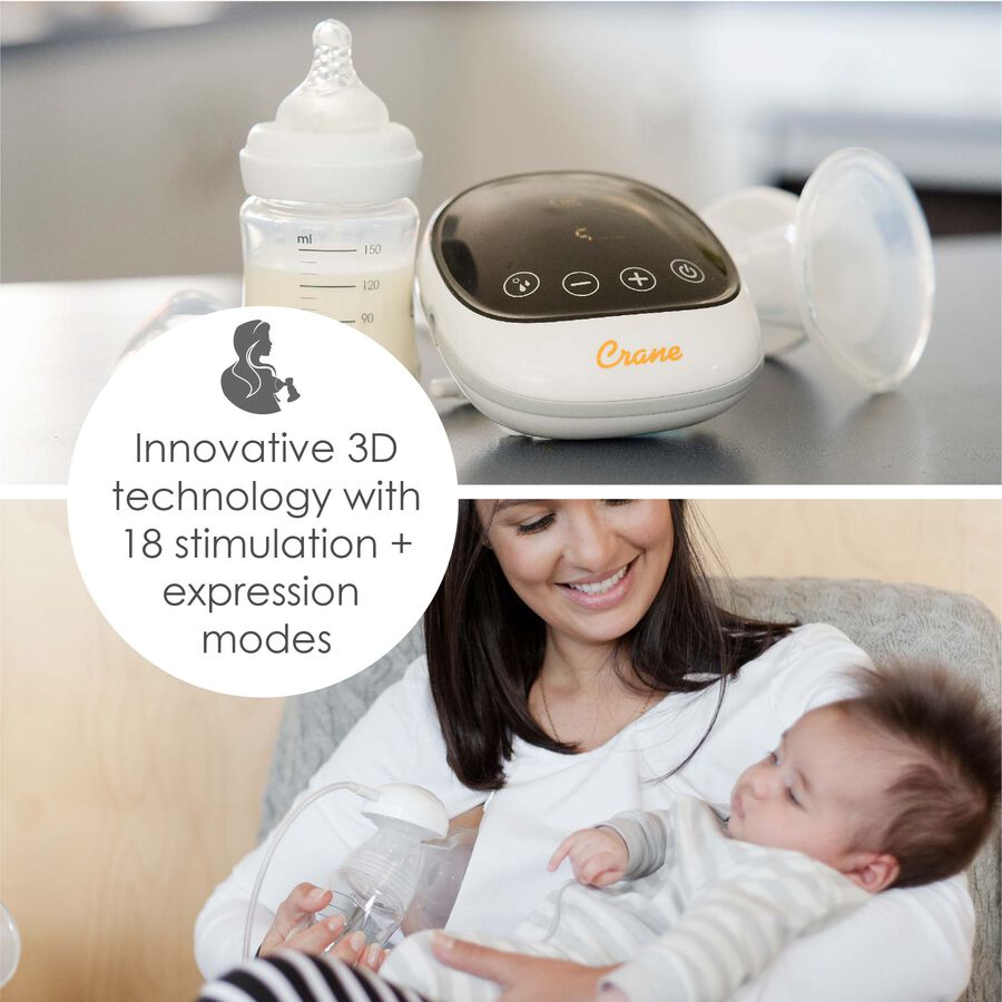 Crane Select Double Electric Breast Pump, , large image number 4