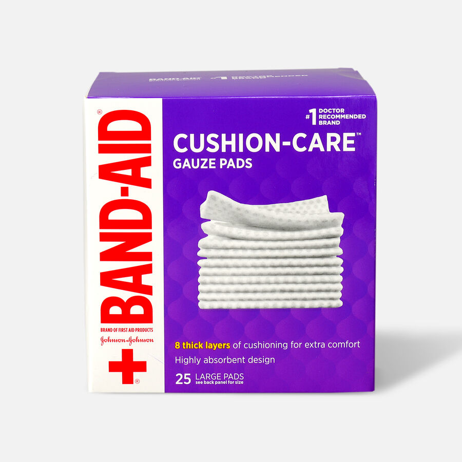 Band-Aid First Aid Gauze Pads 4x4, , large image number 2