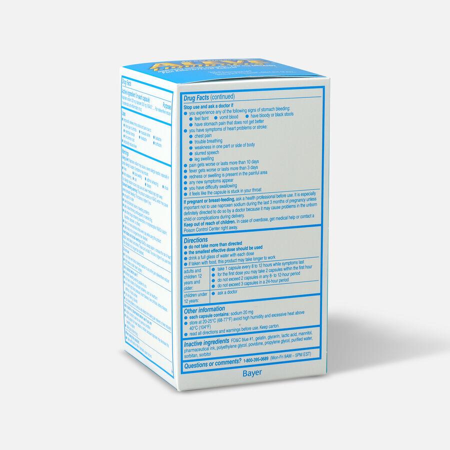 Aleve Liquid Gels Pain Reliever/Fever Reducer, 80 ea, , large image number 2
