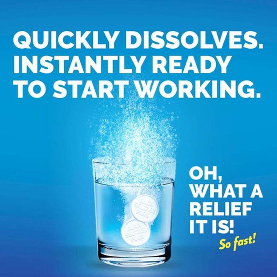 Alka-Seltzer Plus Severe Cold & Flu Powerfast Fizz Tablets, Citrus - 20 ct, , large image number 8