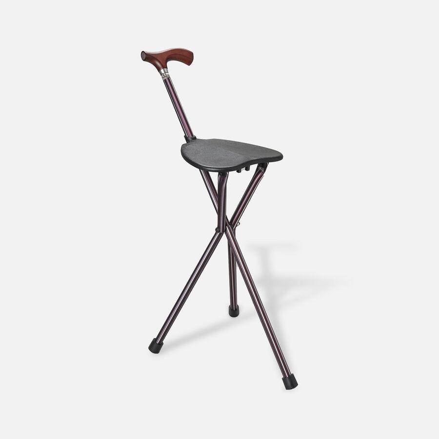 Switch Sticks Seat Stick, 2-in-1 Walking Cane Seat, Folding, Kensington, , large image number 3