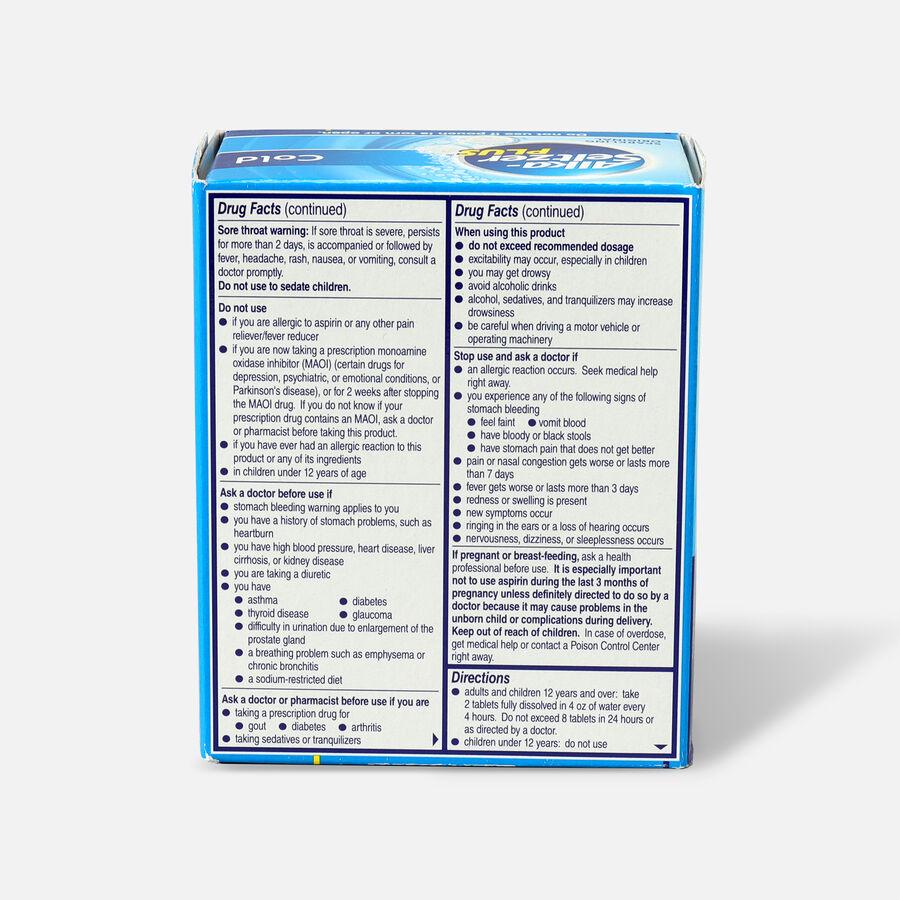 Alka-Seltzer Plus Cold Formula Sparkling Original Effervescent Tablets, 36 Ct, , large image number 1