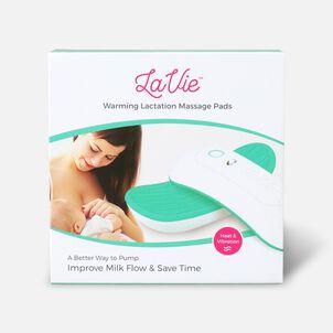 LaVie Warming Lactation Massage Pads, Teal