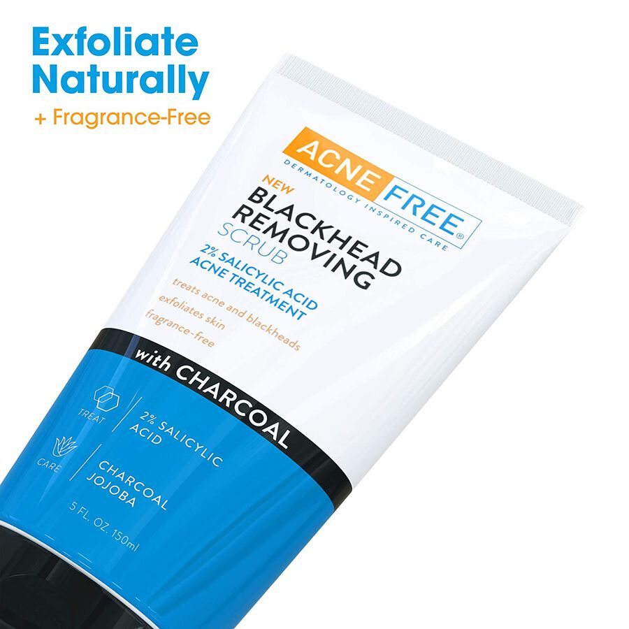 AcneFree Blackhead Removing Scrub with Charcoal, 5 oz, , large image number 6