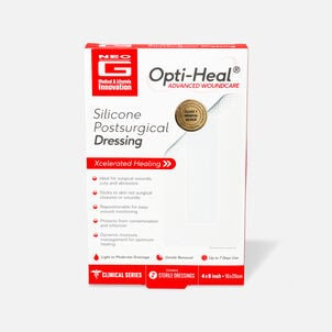 Neo G Silicone Postsurgical Dressing, 2ct