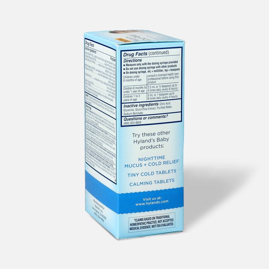 Hyland's Baby Mucus and Cold Relief, 4 oz, , large image number 3