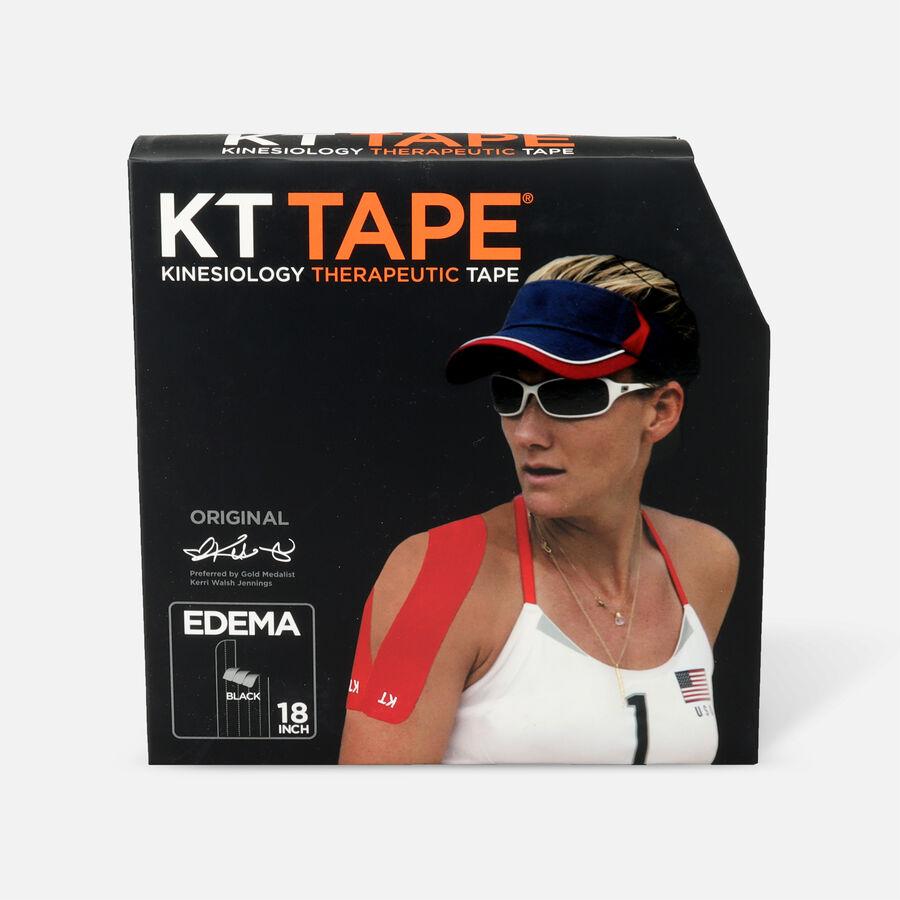 KT Tape Edema Strips, Black, Cotton Jumbo Pack, 83 Strips, , large image number 0