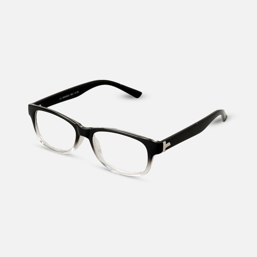 Today's Optical Frame, Black with Transparent Accents, , large image number 2