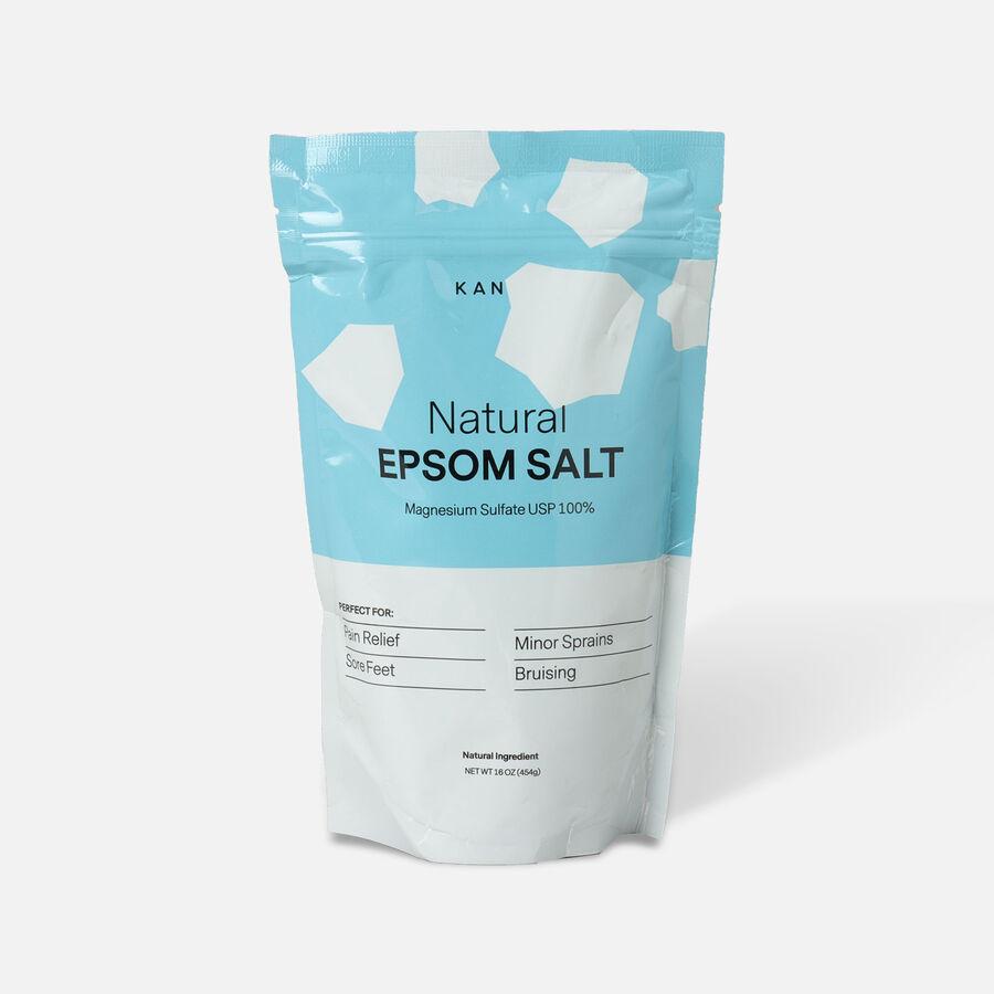 Kanjo Epsom Salt, 16 oz, , large image number 0