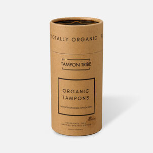 Tampon Tribe Organic Cotton Applicator Regular Tampons, 16ct